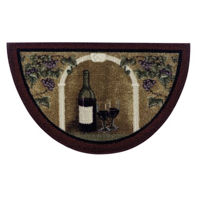 Wine Kitchen Rug