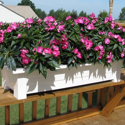 Adams Manufacturing Corporation Rectangular Deck Planter