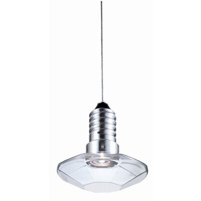 "Terzani Kristal Diam 8/8 6.7"" One Light Pendant"