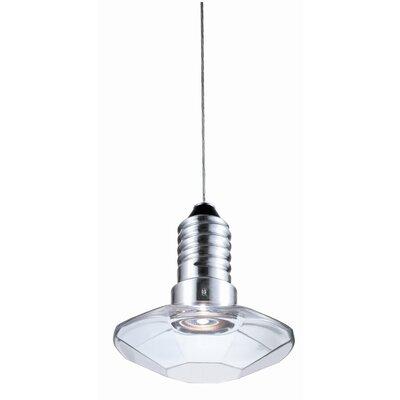 "Terzani Kristal Diam 8/8 6.7"" One Light Pendant"