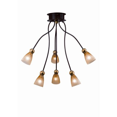 Terzani Rose Tulipe 24&quot; Six Light Pendant