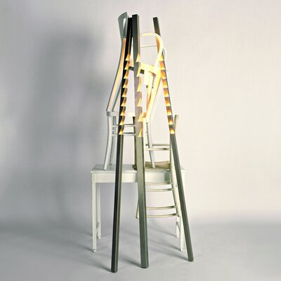 Terzani Zig Zag 6 Light Floor Lamp