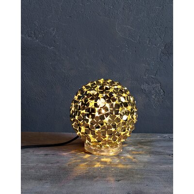 Terzani Orten'Zia One Light Table Lamp in Gold