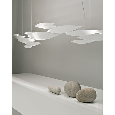 Terzani I Lucci Argentati Suspension Light