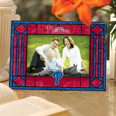 The Memory Company MLB Art Glass Horizontal Frame