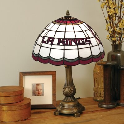 The Memory Company NHL Tiffany Table Lamp