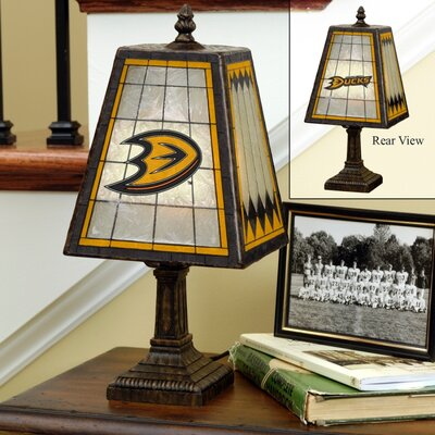 The Memory Company NHL Art-Glass Table Lamp