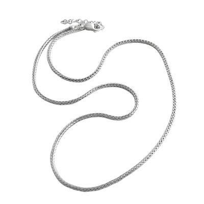 Basic Sterling Silver Chain Necklace