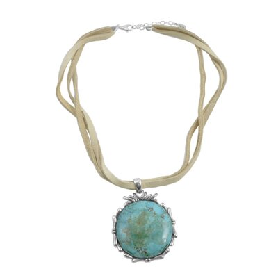 Barse Gatsby Sterling Turquoise Necklace