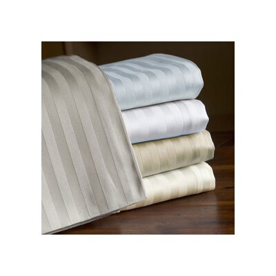 Echelon Home 800 Thread Count Egyptian Cotton Sateen Stripe Sheet Set