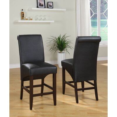 Modus Furniture Cosmo Sleigh Back Counter Stool (Set of 2)