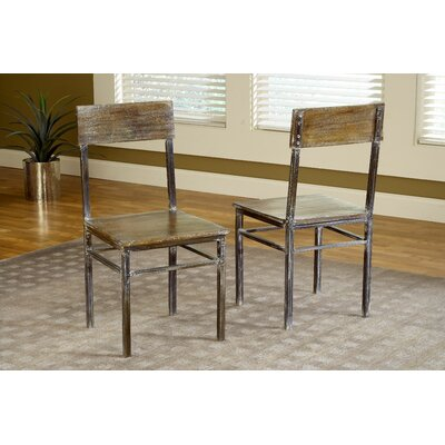 Modus Furniture Farmhouse Side Chair (Set of 2)
