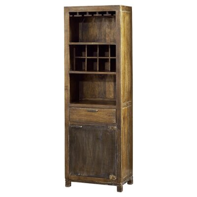 <strong>Modus Furniture</strong> Farmhouse 8 Bottle Wine Cabinet
