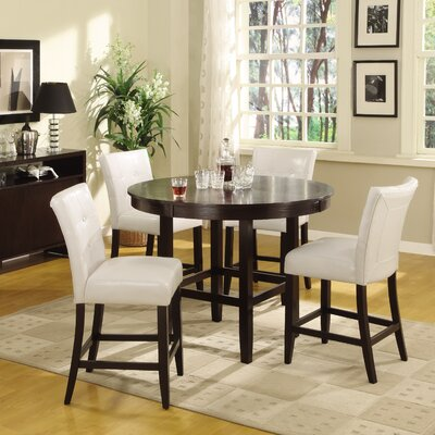 Modus Furniture Bossa 5 Piece Counter Height Dining Set