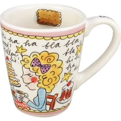Blond-Amsterdam Small Talk 10 oz. Cookie Mug