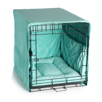 Pet Dreams Plush Cratewear 3 Piece Dog Bedding Set
