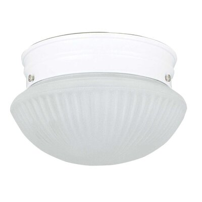 1 Light Mushroom Flush Mount