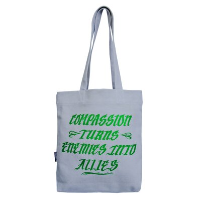 Homeboy Compassion Turns Tote Bag