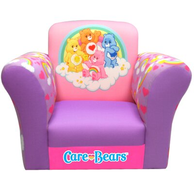 Newco Kids American Greetings Care Bears Rainbows Kid's  Rocking Chair