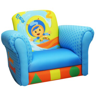 Nickelodeon Team umizoomi Geo Deluxe Kid's Rocking Chair