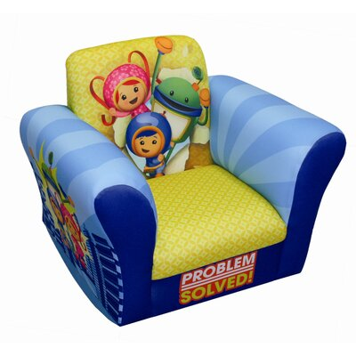 Newco Kids Nickelodeon Team umizoomi Problem Solved Kid's Rocking Chair