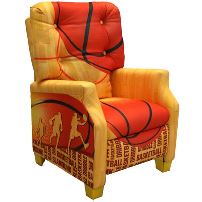 Newco Kids Basketball Slam Dunk Kid's  Recliner Chair