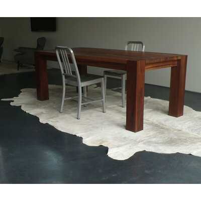 Pure Rugs Natural Cowhide Double Dutch Rug