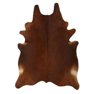 Pure Rugs Natural Cowhide Chestnut Rug