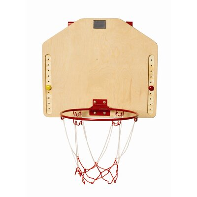 Red Tool Box Basketball Hoop