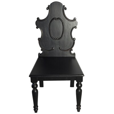 Noir Carved Side Chair