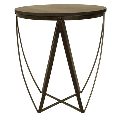 Noir Diagram End Table