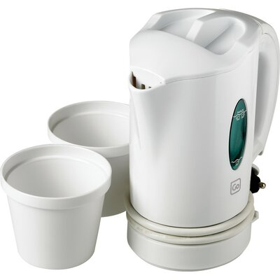 Go Travel Car 0.44-qt. Electric Tea Kettle Set