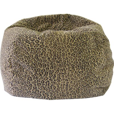 Gold Medal Bean Bags Bobcat Safari Bean Bag Chair