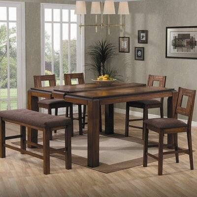 Lifestyle California Altamonte 6 Piece Counter Height Dining Set