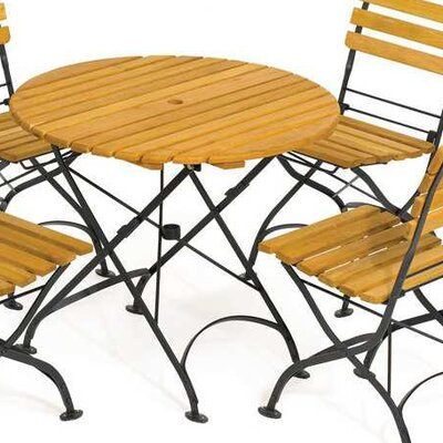 Haste Garden Rebecca Folding Round Dining Set