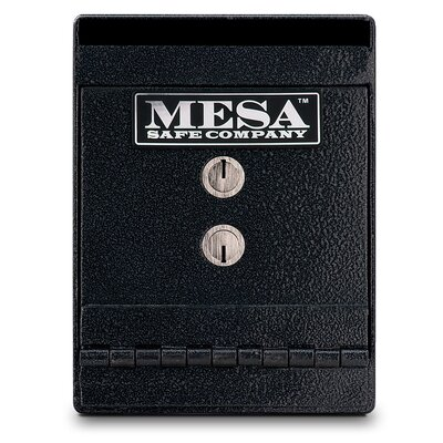 Mesa Safe Co. Key Lock Undercounter Depository Safe