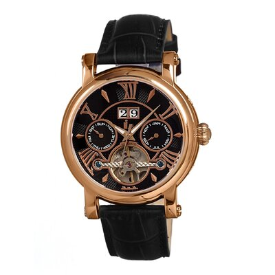 IS Creative Mechanical Leather Men's Watch