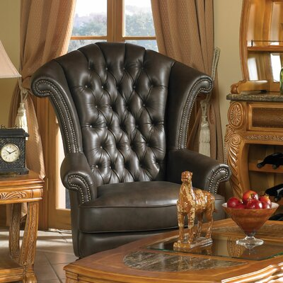Trevi Leather High Back Chair