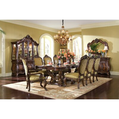 Michael Amini Chateau Beauvais 9 Piece Dining Set