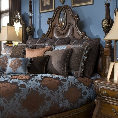 Michael Amini Sovereign Wrought Iron Headboard