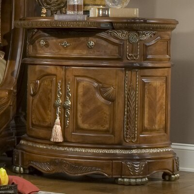 Cortina 1 Drawer Nightstand
