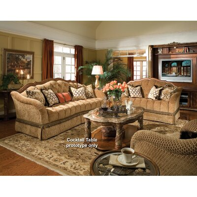 michael amini villa valencia living room collection