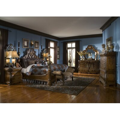 Michael Amini Sovereign Four Poster Bedroom Collection