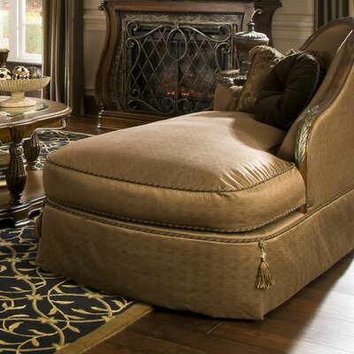 Michael Amini Sovereign Fabric Chaise Lounge