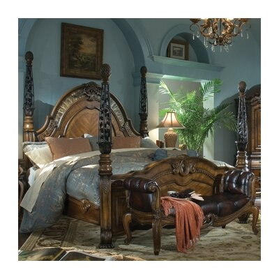 Michael Amini Oppulente Poster Bedroom Collection