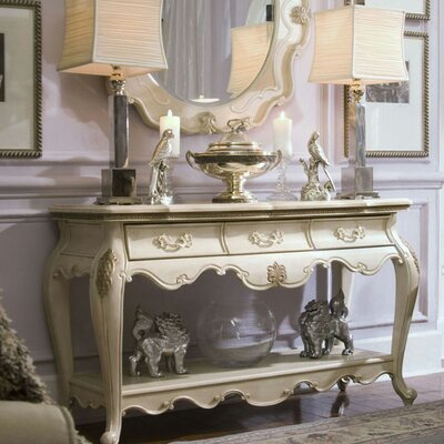 Michael Amini Lavelle Console Table Set