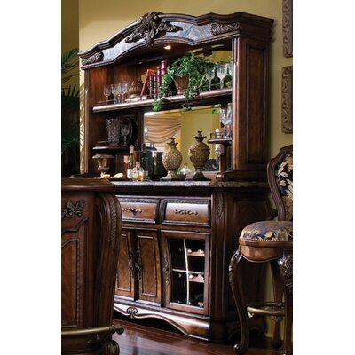 Michael Amini Oppulente Wall Bar in Sienna Spice
