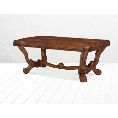 Michael Amini Tuscano Trestle Dining Table