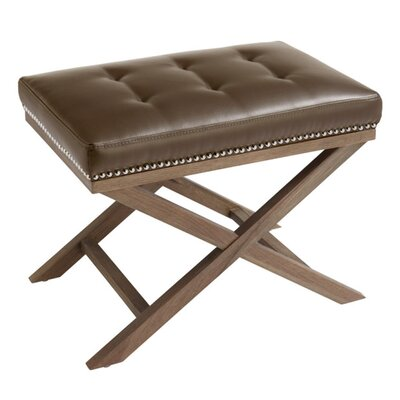 Modesto Bonded Leather Bench