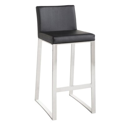 "<strong>Sunpan Modern</strong> Architect 30"" Bar Stool with Cushion"